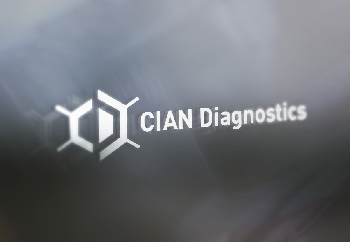 CIAN Diagnostics signage