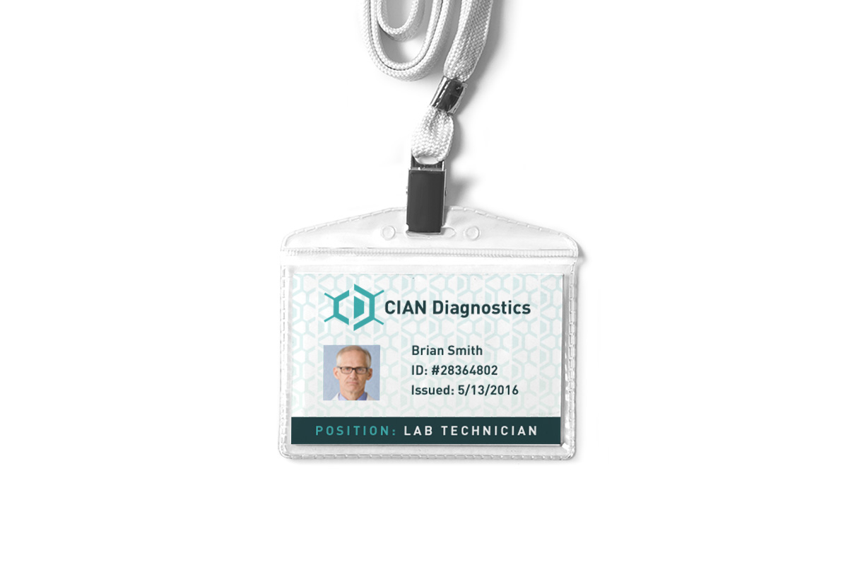 CIAN Diagnostics ID badge