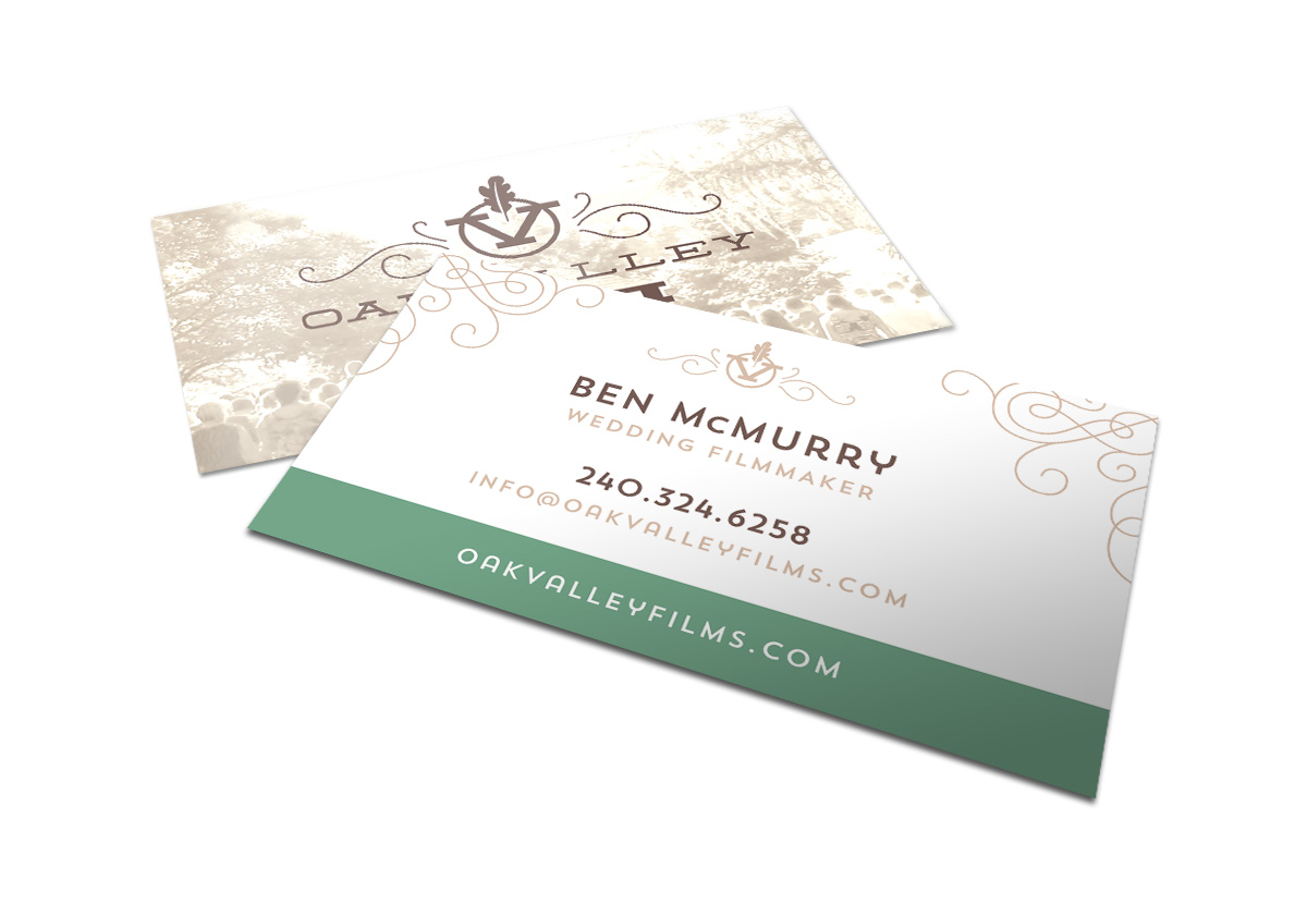 Oak Valley Films business cards